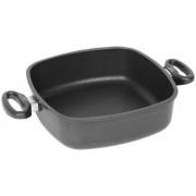 Tigaie adanca AMT Gastroguss E289, 28 cm (Negru)