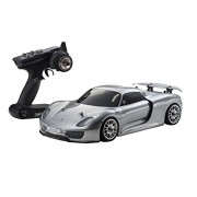 Kyosho Fazer VE RS - Porsche Spyder 918 RC Car, Silver
