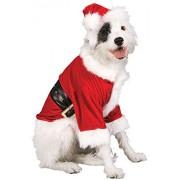 Rubie's Costume Co Dog Santa Claus Costume