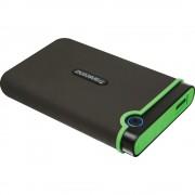 Transcend Slim StoreJet M3S HDD Extern 2 TB USB 3.0 Negru