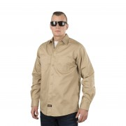 West Coast Choppers Hemd West Coast Choppers Jesse James Heavy Duty Work Beige-Sand