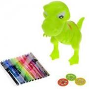 Детски комплект за рисуване с прожектиращ динозавър, 502114090