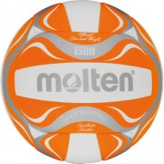 molten Beach-Volleyball BV1500-OR (weiß/orange/silber) - 5