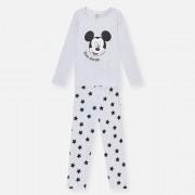 Sinsay - Pyžamo s potiskem Mickey Mouse - Světle šedá - pánské - YA335-09M