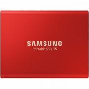 Samsung SSD T5 External 500GB 540 MB/s USB 3.1, 3 yrs, red