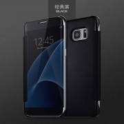 Clear View Cover voor Samsung Galaxy S7 – Zwart