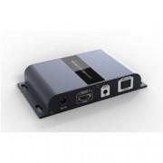 Techly Np Extender HDMI con IR su Cavo Fibra Ottica Monomodale SC simplex fino a 20km Hdbit