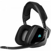CORSAIR GAMING VOID RGB ELITE Wireless Premium Gaming Headset with 7.1 Surround Sound, Carbon (EU Version) CA-9011201-EU
