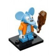 LEGO Minifigure - The Simpsons - ITCHY with Club
