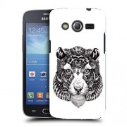 Husa Samsung Galaxy Core 4G LTE G386F Silicon Gel Tpu Model Tiger Abstract