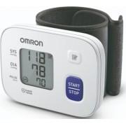 Tensiometru de incheietura compact Omron RS1 complet automat cu tehnologie Intellisense Alb