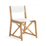 Am.pm Cadeira de mesa, AlfredMadeira/Branco- TAMANHO ÚNICO