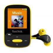 SanDisk Clip Clip Sport MP3 8GB Preto/Amarelo
