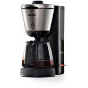 Cafetiera Philips Intense HD7696/90, AromaSelect, Timer, 1000 W, 1.2 l, Negru/Inox