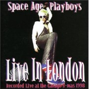 Video Delta Space Age Playboys - Live In London - CD