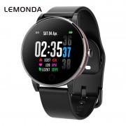 LEMONDA Y9 1.3-inch Dynamic UI Smart Watch with Silicone Watch Band - Black