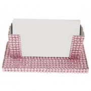 Diamonte Desk Card Holder