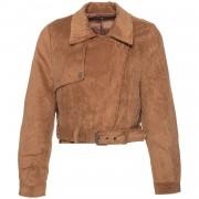 Biker Jacket Brown Corduroy - Jassen