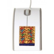 Mouse optic cu fir USB Eminent KH50002 design Keith Haring