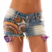 V&V Dámské jeans kraťasy - Indian (25) - V&V