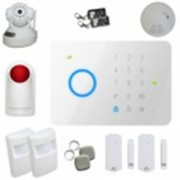 Kit alarme sans fil Gsm T3 100% sécurisé