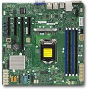 Supermicro X11SSM-F server-/werkstationmoederbord Intel® C236 microATX