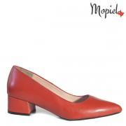 Pantofi dama din piele naturala 241204/07724010/Rosu/Emily