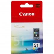 Cartucho Tinta Canon 51 Original CL-51 Para Pixma Series IP2200 IP6210D IP6220D IP6310D IP6320D MP150 MP160 MP170 MP180 MP450 MP460 MX300 MX310 De Color-Tricolor