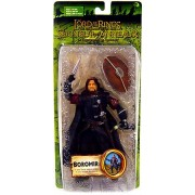 Lord of the Rings Fellowship of the Ring Battle Attack Boromir Bilingual Action Figure