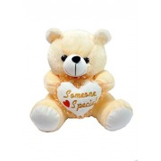 ''PRACHI TOYS'' Permium Quality Soft Plush Teddy Bear with Heart for Kids Children Boy and Girls (Cream) 30CM