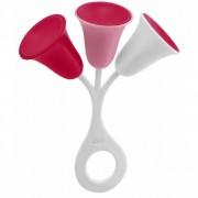 Chicco - Sonajero Tulipán Color Rosa