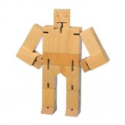 Areaware Small Cubebot Natural Puzzle