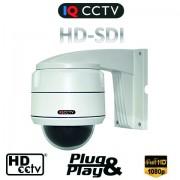 Full HD-SDI speed dome kamera + 2,5 x zoom objektiv