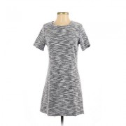 Bow & Arrow Casual Dress - Mini: White Dresses - Used - Size Small