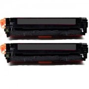 Paket med 2st miljötoner till HP 304A (CC530A) svart 3500 sidor