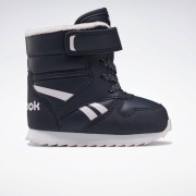 Reebok Royal Classic Snow Jogger Schoenen - Collegiate Navy / Pixel Pink / White - Size: 19.5,22,23.5,21,24.5,25.5,26.5