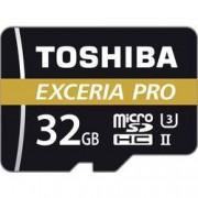 Toshiba Paměťová karta microSDHC, 32 GB, Toshiba EXCERIA™ PRO M501, Class 10, UHS-II, UHS-Class 3, vč. SD adaptéru