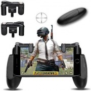 Tiwari Fashion Premium Quality L1 R1 Dual Gamepad Trigger with Fire Shooter Controller Button Aim Key Mobile Gaming Joystick for PUBG/Knives Out/Rules of Survival for all mobiles phones