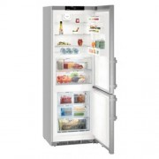 GARANTIE 4 ANI Combina frigorifica Liebherr, clasa A+++, congelator NoFrost, front inox SmartSteel CBNef 5715