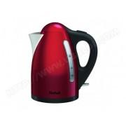 Tefal Bouilloire Rouge Inox 2400W 1,7L KI110511