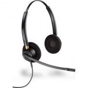 Casca Call Center Plantronics EncorePro HW520-89434-02, Duo, Microfon Noice Canceling