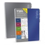 Mitama Quaderno Blocco Multifunzione Triplo Colortouch 3 Rigature Formato A4 Colori Assortiti