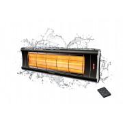 Incalzitor Veito AERO S 2,5kW, fibra Carbon, Aluminiu, Telecomanda, Afisaj LED, 4 Trepte, Weatherproof
