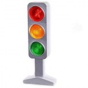 Dazzling Toys Flashing Traffic Light Lamp 7 - 3 Randomly Flash and Blink