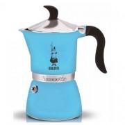 Bialetti kawiarka Fiammetta Fluo 3 tz błękit