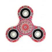 ART Mandala Flower Art Fidget Spinner - Röd