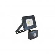VISION EL Projecteur extérieur LED gris avec détecteur 10W 4000°K