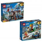 Lego City Lego® City 60174 Bergspolisens högkvarter + 60171 Mountain Fugitives