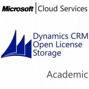 MICROSOFT Dynamics CRM Online Storage, Academic, VL Subs., Cloud, All Languages, 1 user, 1 month LV2-00002