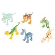 MagiDeal Kids Dinosaur Models 4'' Plastic Jurassic Dinosaurs Boys Educational Toy